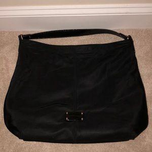 Large Kate Spade nylon black tote